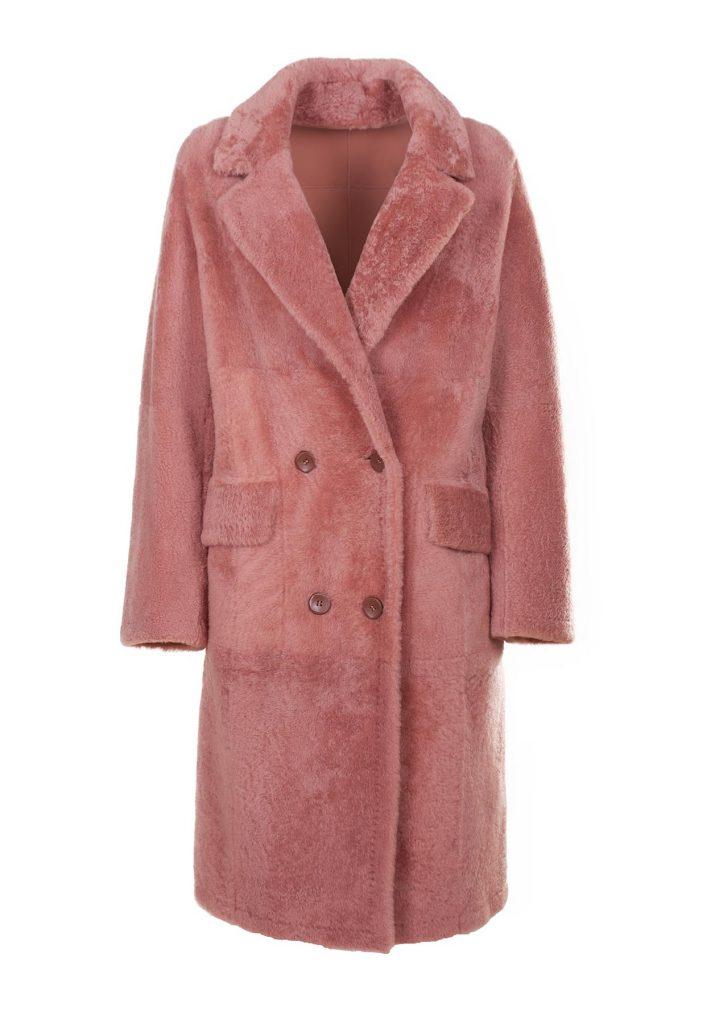 Mantel aus Shearling für Damen in der Farbe Phard