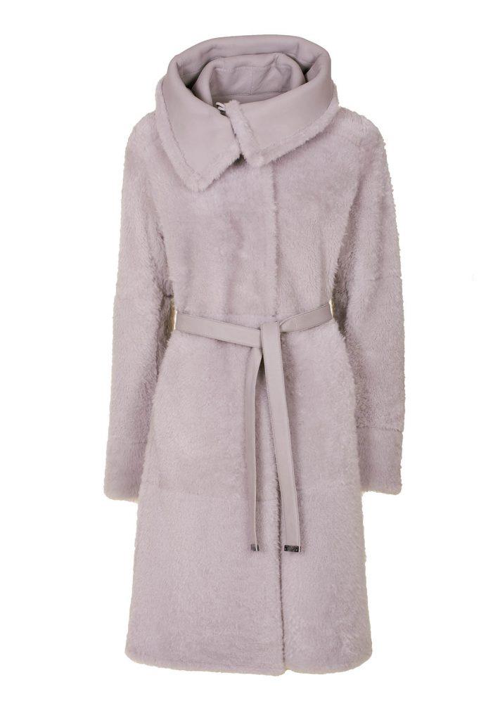 Women's sapphire-coloured coat