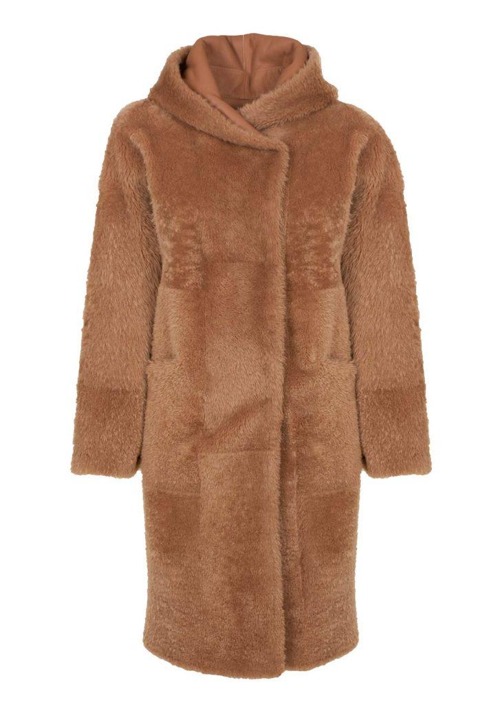 Women's camel-coloured coat